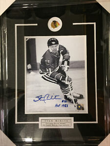 Stan Mikita autographed picture