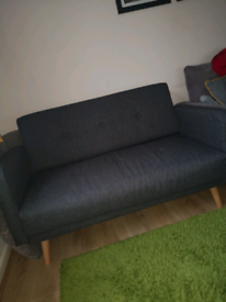 Brand NEW Stylish Grey 2 Seater Loveseat RRP £339.99
