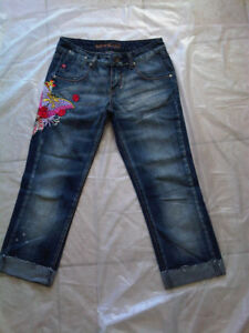 Girls / Ladies' MISS SIXTY Straight leg Blue Denim Jeans Size 26