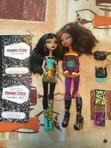 MONSTER HIGH SCHOOL'S OUT CLEO AND CLAWDEEN West Island Greater Montréal image 4