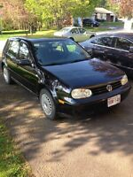 2003 Volkswagen Golf manual