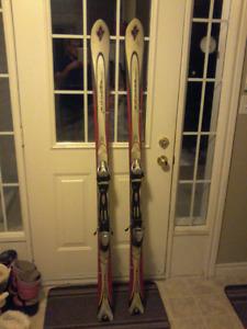 170 cm skis