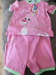 girls 3T, 2 piece short pajamas Little Tikes BNWT