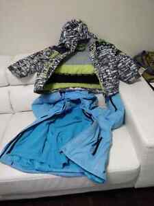 Kids snow/winter jackets 6t 7t and ecco boots size 1&2