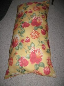 floral overstuffed body cushion or for whatever