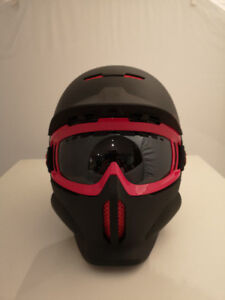 New RuRoc Helmet and goggles