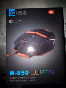 High DPI Gaming Mouse with 3 Side buttons