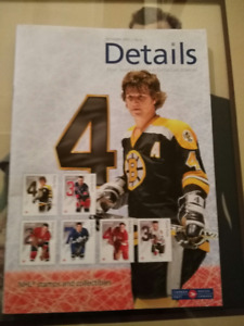 Canada Post Details Magazine featuring bobby Orr