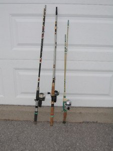 FISHING PACKAGE - 3 RODS and LURES