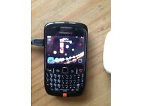 Blackberry curve 8520 Orange network
