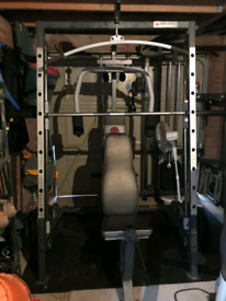 Adidas gym rack with accessories and 50kg!!   in Chiswick