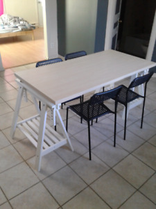 Table 4 chaise bricolage