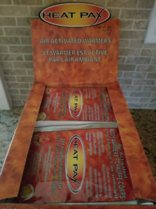 Box of 40 BODY WARMERS, Outdoors Activities,Apparel, Aches Pains