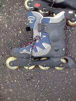 K2 roller blades, size 8mens 45$ OBO