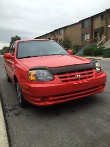 2005 hyundai accent 5/ automatique
