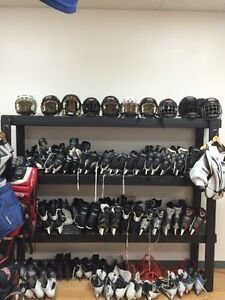 We buy, sell, trade and sharpen skates