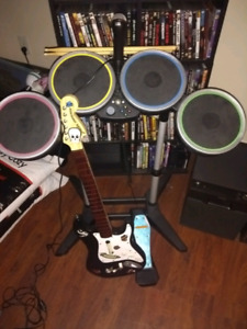Xbox 360 rock band and games