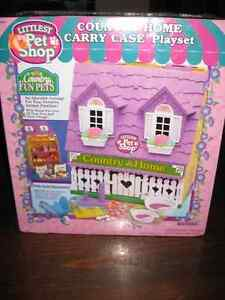 Vintage Littlest Pet Shop Carry Case (still sealed)
