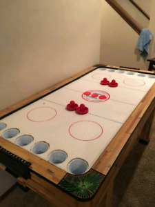 Full size AIR HOCKEY BEER PONG TABLE