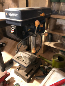 "Mastercraft 8"" drill press"
