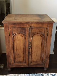 Indian Antique Acacia Cabinet