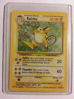 *****Rare Mint Holographic Pokemon Card - Raichu*****