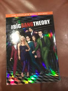 big bang theory season 6 ( 3 discs)