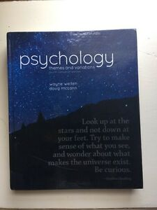 Psychology Themes & Variations Fourth Edition  Peterborough Peterborough Area image 1