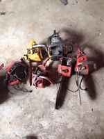 Lot of chainsaws for good good price