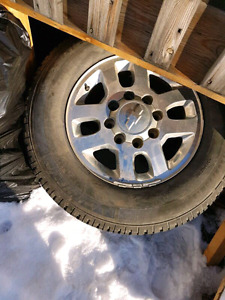 4 X 265/70R18 Rims and Tires