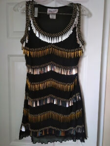 Jerry Beck Black Dress in Excellent Condition