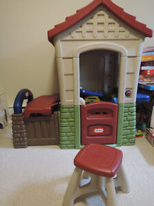 indoors/outdoors kids house