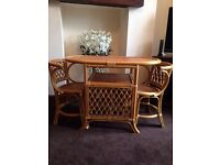 conservatory dining set excellent condition