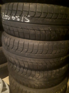 205 65 15 MICHELIN WINTER TIRES