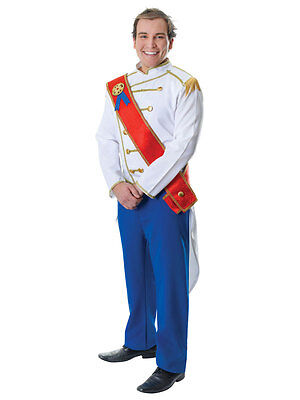 Adult Prince Charming Royal Medieval Fairy Tale Fancy Dress Costume Outfit New