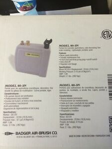 Badger 80-3n airbrush air compressor NEW