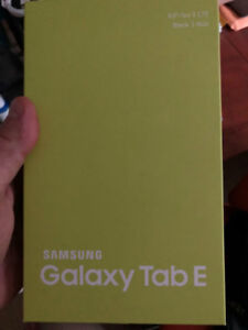 Samsung Galaxy Tablet E 2018 NEW!!!
