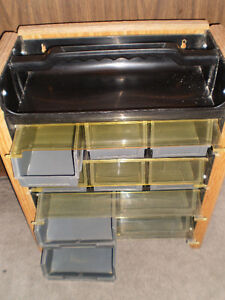 Small Parts Storage Bin(s) Unit, 18.5 x 15 x 7.5 inches