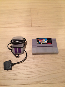 Super Nintendo Game Mario Paint with Mouse. Will Trade for Games
