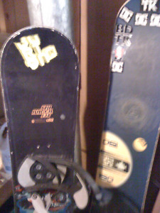 2 boards 1 pair of boots