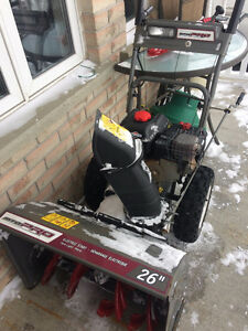 Snow Blower For Sale - 26 Inch