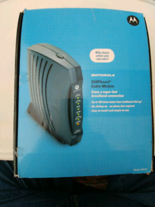 *BRAND NEW* Motorola SURFboard Cable Modem