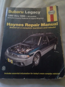 Subaru Legacy (1990-1999) Haynes Manual
