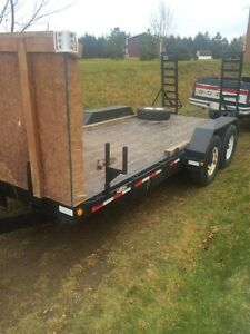 7000lb sky reach trailer $5500 obo