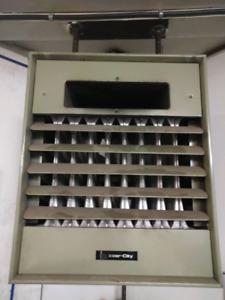 Inter city garage unit heater