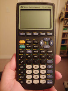 TI-83 Plus Graphing Calculator - Excellent Condition!