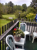 MUSKOKA, AFFORDABLE HOUSEKEEPING UNIT, Steps to Sparrow Lake