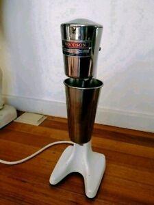 Vintage Woodson Milkshake Maker Circa 1950-1960s