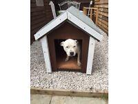 Dog kennel for sale.