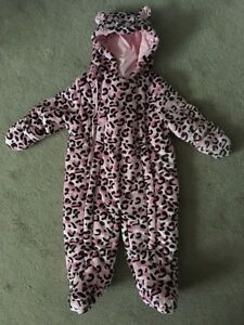 NWT 6M George Pink Leopard Snow Suit London Ontario image 1